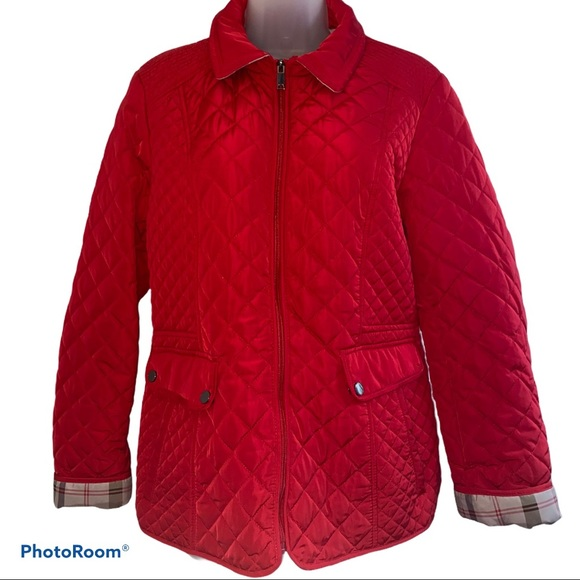 GIACCA QUILTED JACKET LARGE